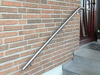 Edelstahlhandlauf gebogen für Eingangstreppe
