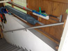 Treppenhandlauf gerade zur Wandmontage