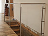 Geländerpfosten für eine Innentreppe - für Geländer mit einer Seilfüllung