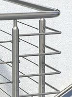 Geländer Handlaufbögen aus Edelstahl im Vergleich