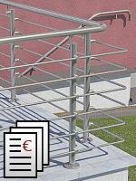 Preisübersichen für Geländer
