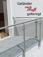 Konfiguratoren für Geländer aus Edelstahl