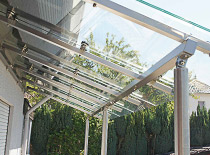 Terrassenüberdachung aus Edelstahl - Kundenprojekte