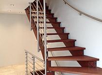 Treppengeländer aus Edelstahl - Kundenprojekte / Kundenmeinungen