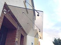Glasvordächer aus Edelstahl - Kundenprojekte / Kundenmeinungen