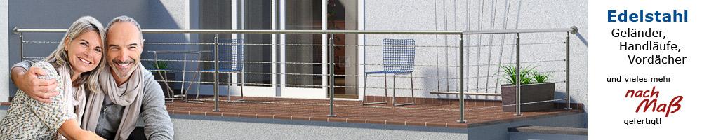 Körting Geländer aus Edelstahl für Terrassen - Geländerfüllung aus Drahtseilen