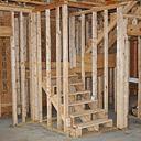 Handlauf an Holzständerwand montieren