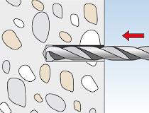 fischer Injektionsmörtel FIS HB 345 S und Highbond-Ankerstange FIS HB II-A - Vorsteckmontage in Beton - Montage 01