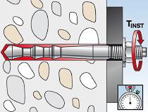 fischer Injektionsmörtel FIS HB 345 S und Highbond-Ankerstange FIS HB II-A - Vorsteckmontage in Beton - Montage 05