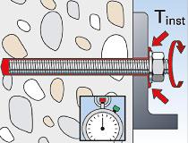 fischer superbondmörtel FIS SB 390 S und Ankerstange FIS A - Vorsteckmontage in Beton - Durchsteck-Montage 05