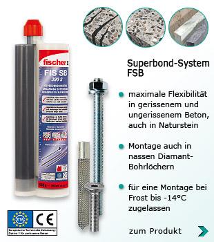 zum Artikel Fischer Superbond Mörtel FIS SB 390 S