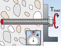 fischer superbondmörtel FIS SB 390 S und Ankerstange FIS A - Vorsteckmontage in Beton -  Vorsteck-Montage 05