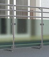 Geländerpfosten - im richtigen Abstandstand montieren - Informationen bei verschiedenen Montagearten