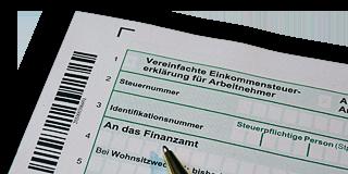 Einkommensteuererklärung - Formular