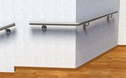 Handlauf aus Edelstahl Preis für Wandmontage an einer Außenecke