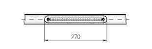 LED-Modul - Abmessungen