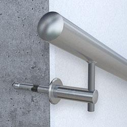 Handlaufbefestigung an Beton - Handlaufhalter 643-901 mit Hochleistungsanker