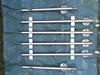 Edelstahlgeländer mit Glasfüllung - Geländerpfosten vormontiert mit Glasklemmen und Wangenplatten
