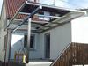 Edelstahl - Vierkantrohr - Zuschnitte mit Bohrungen für eine Unterkonstruktion einer Terrassenüberdachung