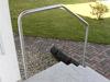 Blick von der Treppe aus auf den Bügel Typ 3a in Wangenmontage