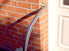 Edelstahlrohr gewalzt, Geländer mit einem Bogen zur Wandbefestigung