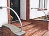 Edelstahl Geländerbügel gewalzt - konfiguriert mit unserem Profilkonfigurator für Walzarbeiten