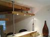 Edelstahlstütze für Abhängung LED - Panel