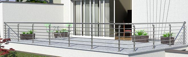 Terrasssengeländer Edelstahl Preise für Terrasse in L-Form im Überblick