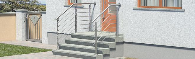 Treppengeländer Edelstahl Preise für Eingangstreppen im Überblick