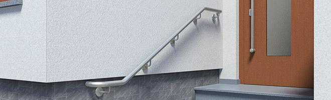 Treppenhandläufe aus Edelstahl - nützliche Informationen zur Montage von Handläufen