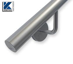 Wandhandläufe aus Edelstahl im Rohrdurchmesser 33,7 mm