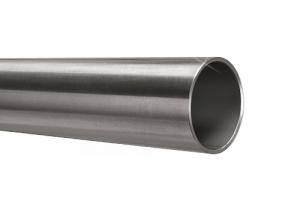 Edelstahlrohr 42,4x2,0 mm Werkstoff 1.4571 Korn 600 geschliffen in 6 Meter - Längen oder Zuschnitt auf Maß
