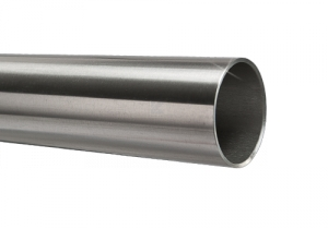 Edelstahlrohr 48,3x2,0 mm Werkstoff 1.4301 Korn 600 geschliffen in 6 Meter - Längen oder Zuschnitt auf Maß