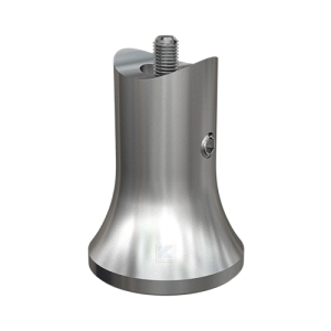 Handlaufstütze zum Einschweißen mit Gewindebolzen M8 zum Einstecken in die Stütze und zum Anschrauben an den Handlauf in M8