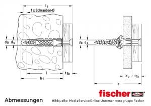 Fischer-Universaldübel-UX