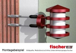 fischer Thermax 8/10 zur thermisch getrennten Abstandsmontage in Wärmedeämmverbundsystemen (WDVS)